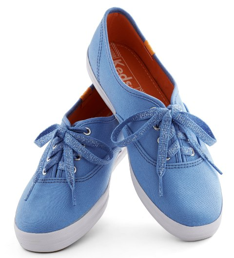 Blue Shoes Women - 1