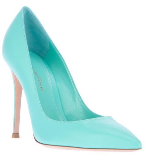 Blue Shoes Women 10