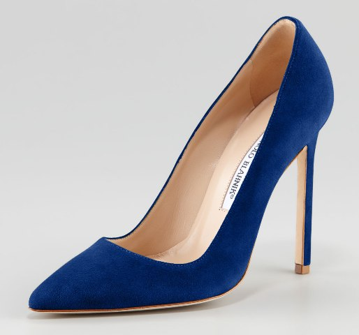 Blue Shoes Women 2