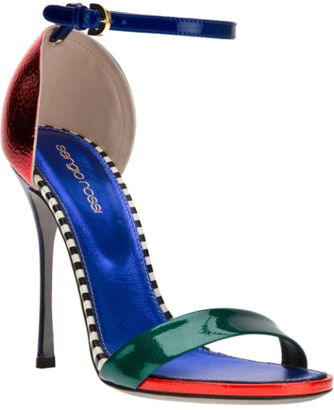 Blue Shoes Women 3