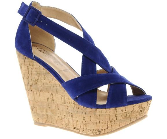 Blue Shoes Women 4