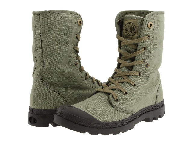 how to wear army boots