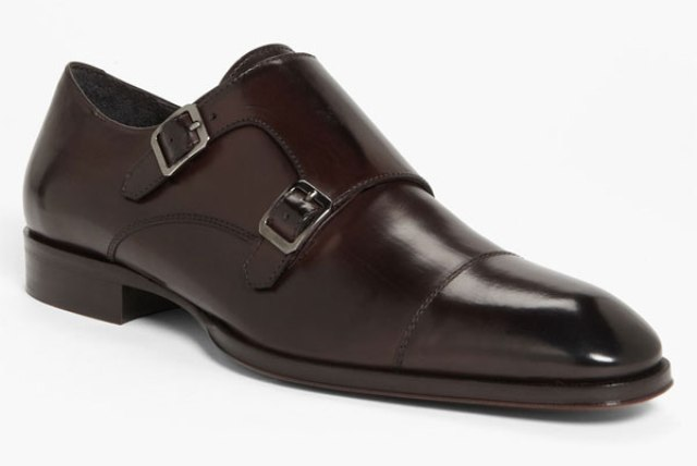 Langley Double Monk Strap Slip-On