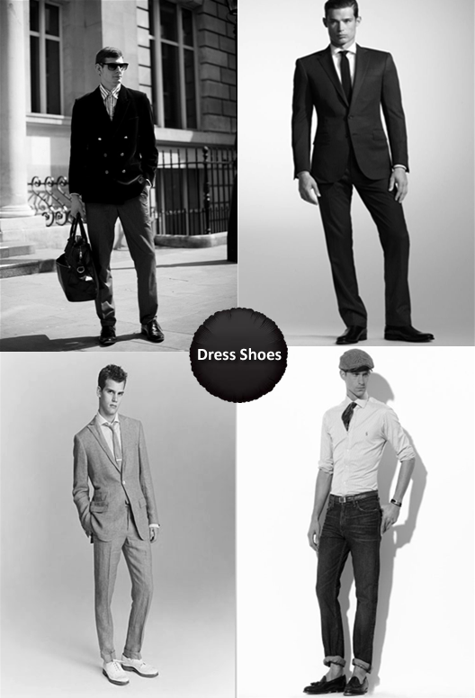 Pictures of Men Wearing Dress Shoes