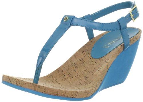Ralph Lauren Women Rosalia Soft Patent Sandal