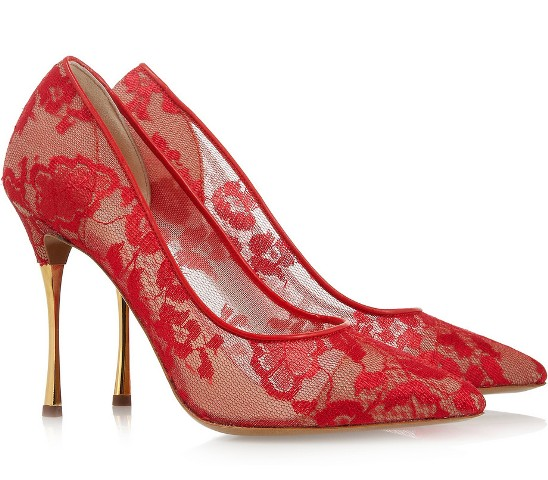 Luxury JustFab Lakshmi Red Shoes For Women  EaeShoes