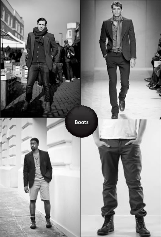 What To Wear With Boots Men