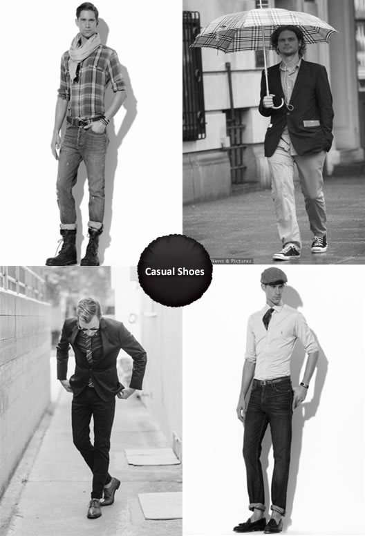 What To Wear With Casual Shoes Men