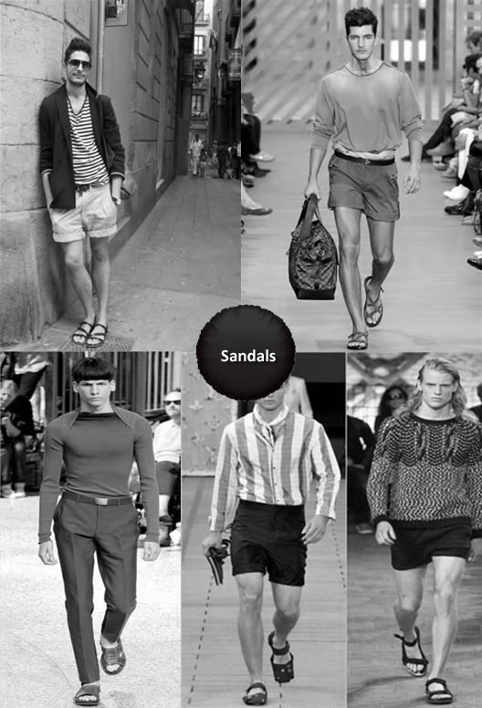 What To Wear With Sandals Men