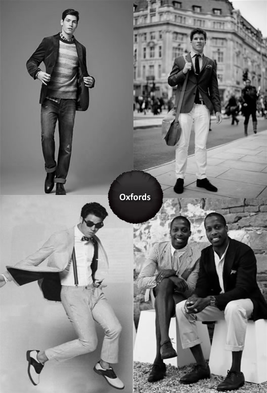 What To Wear with Oxfords Men