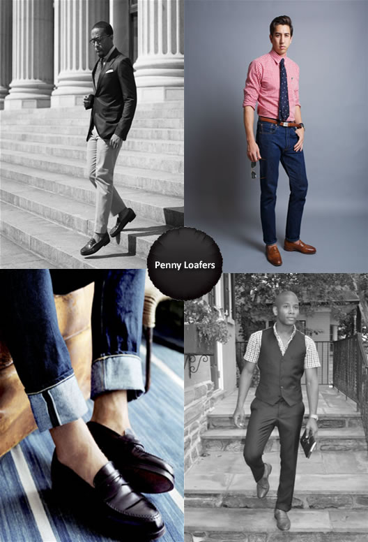 What To Wear with Penny Loafers Men