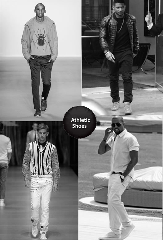 What to Wear with Athletic Shoes Men