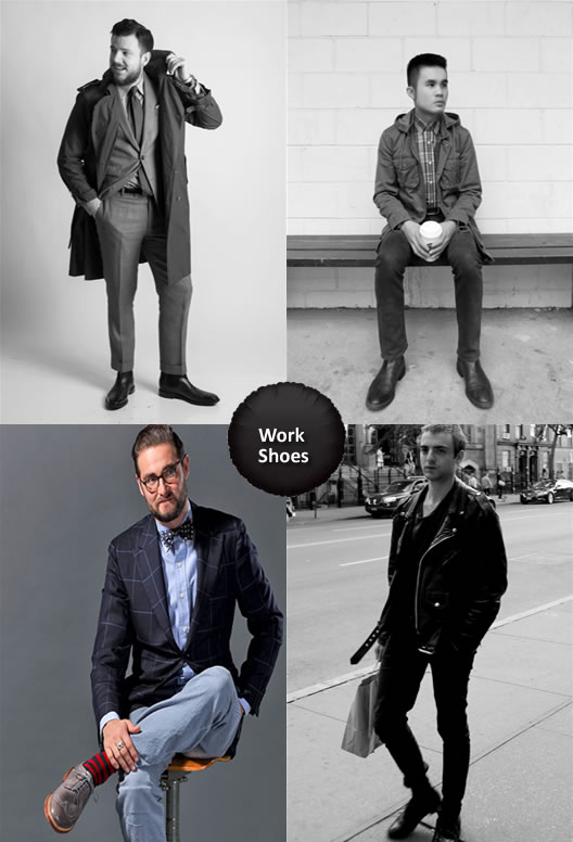 What to Wear with Work Shoes Men