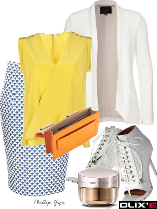 What To Wear To Work - Pencil Skirt With Blazer