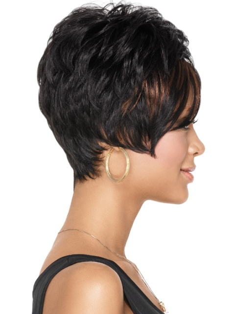 Awesome 16 Simple Black Short Hairstyles Olixe Style Magazine For Women Short Hairstyles Gunalazisus