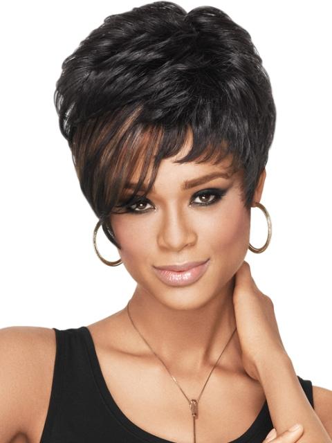 Phenomenal 16 Simple Black Short Hairstyles Olixe Style Magazine For Women Short Hairstyles For Black Women Fulllsitofus