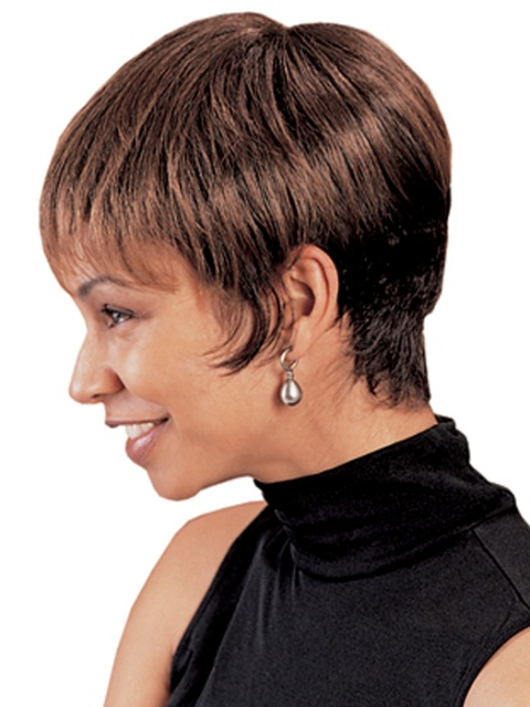 African American  Short haircuts for thick hair