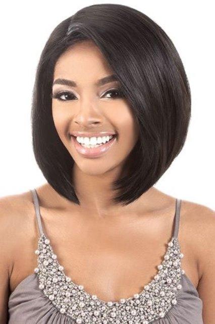 Black short bob hairstyles