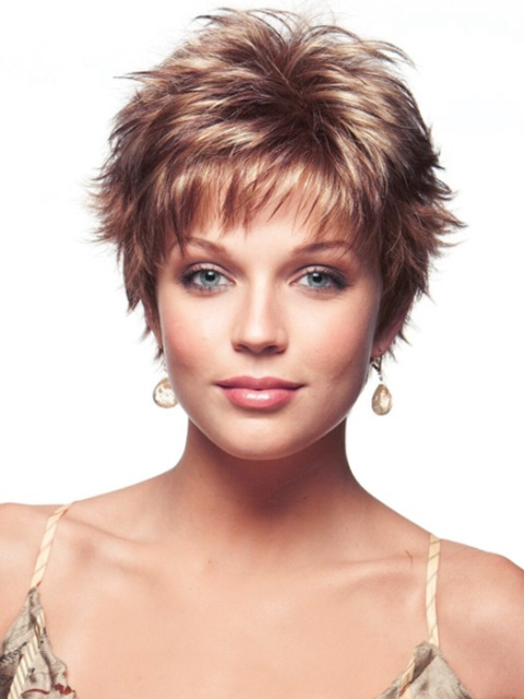 Excellent Easy Hairstyles For Thin Hair Pinterest Haircuts Short Hairstyles For Black Women Fulllsitofus