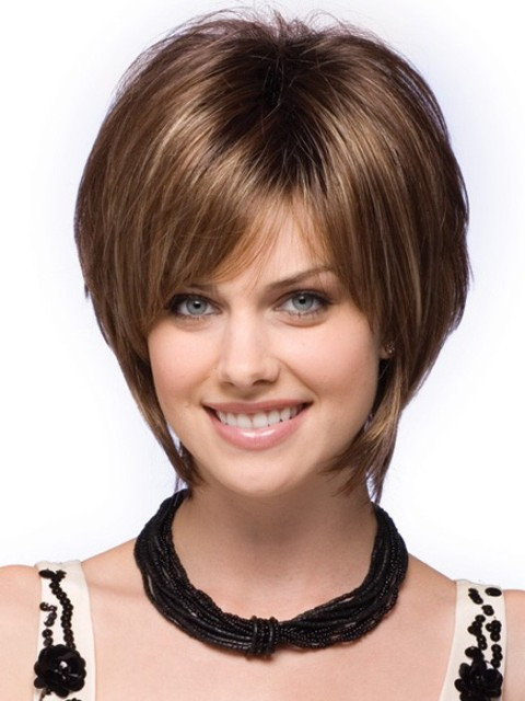 Stupendous 16 Easy Short Haircuts For Thick Hair Olixe Style Magazine For Hairstyles For Women Draintrainus