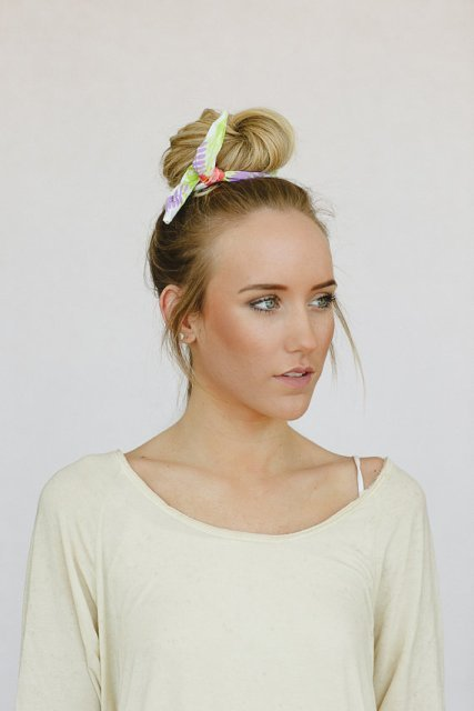 Simple Quick Updos for Long Hair