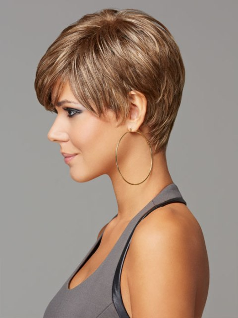 Refined Short haircuts for thick hair