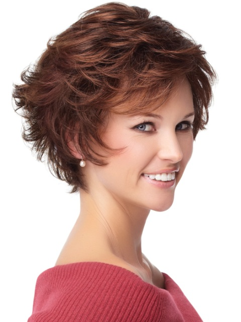 Shaggy Short Haircuts For Fine Hair