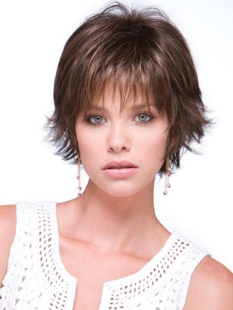 Swell Short Hairstyles For Fine Hair Round Face Carolin Style Short Hairstyles Gunalazisus