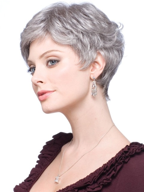Short Haircuts For Fine Hair - With Color