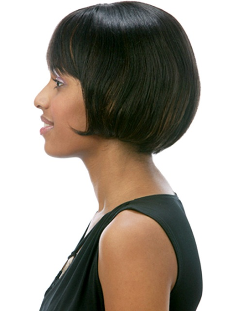 Short hairstyles for thick hair for black women