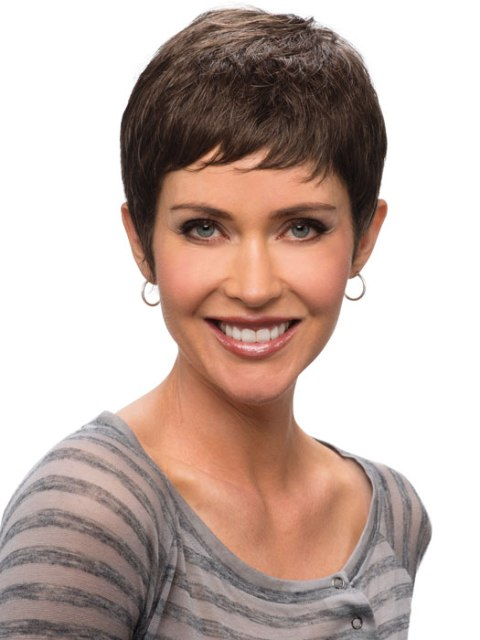 Short hairstyles for thick hair for black