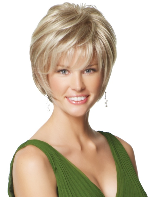 Short hairstyles for thick hair for cute