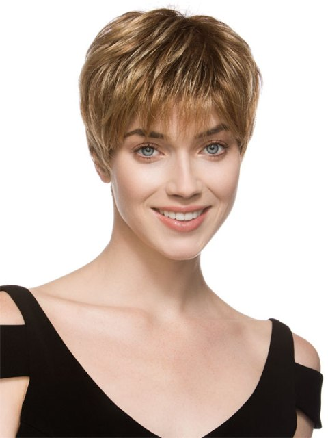 Fine Short Hairstyles For Thick Hair For Easy Ba1D42 Hairstyles For Women Draintrainus