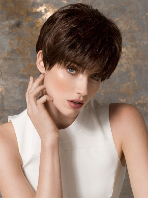 Short hairstyles for thick hair for girls