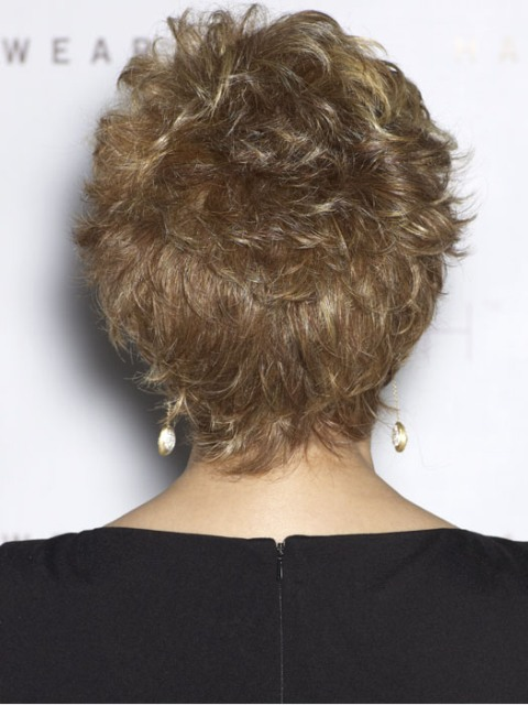 Short hairstyles for thick hair for wavy