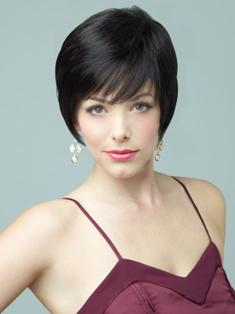 Smooth Black short hairstyles