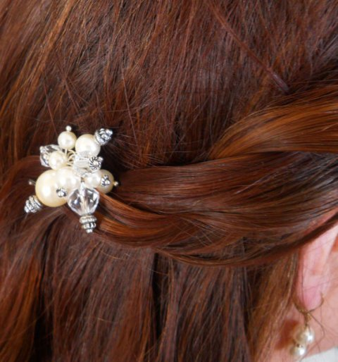 Updo for Long Thick Hair