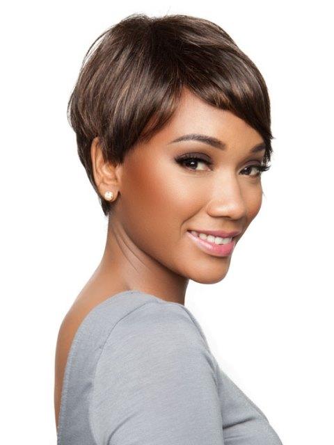 Wavy Black short hairstyles