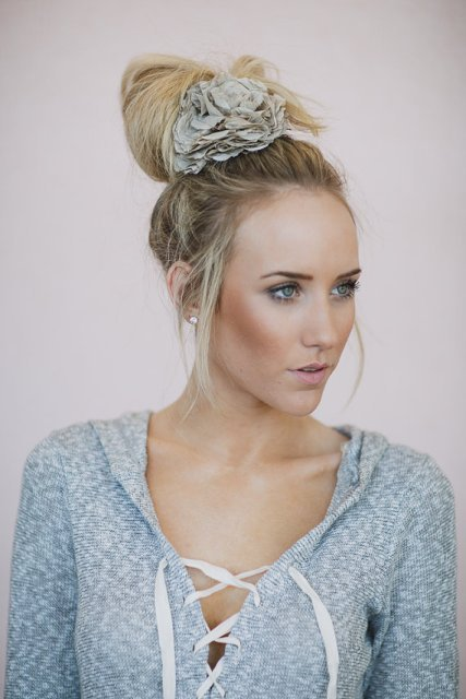 Wedding Updo Hairstyles For Straight Hair