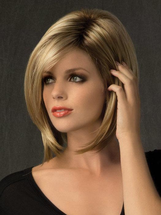 Beautiful hair style for straight hair