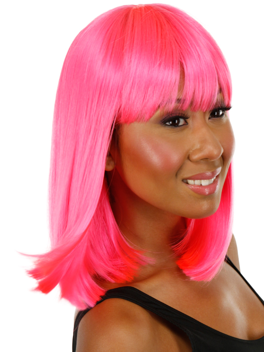 Hair style for straight hair with color