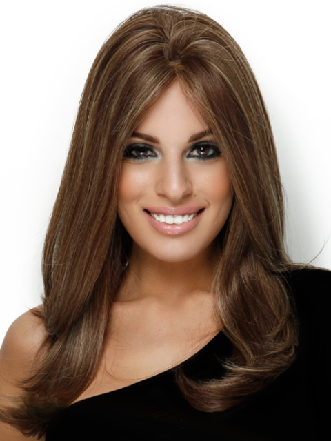 Hairstyles Long Thick Hair : Long layered hairstyles for thick hair