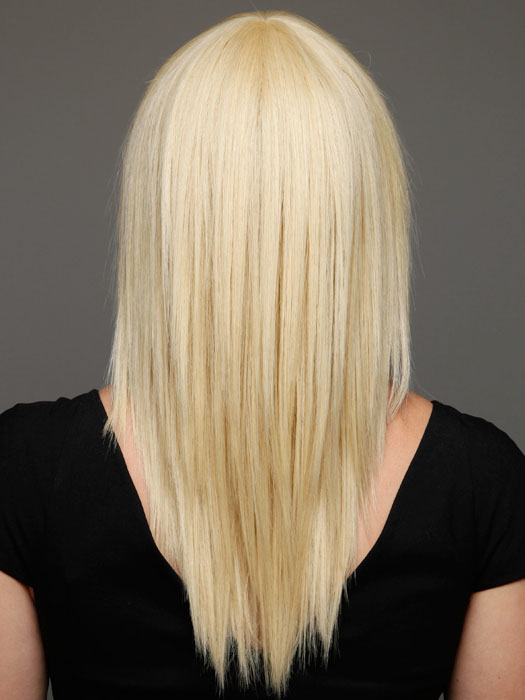 Smooth hair style for straight hair