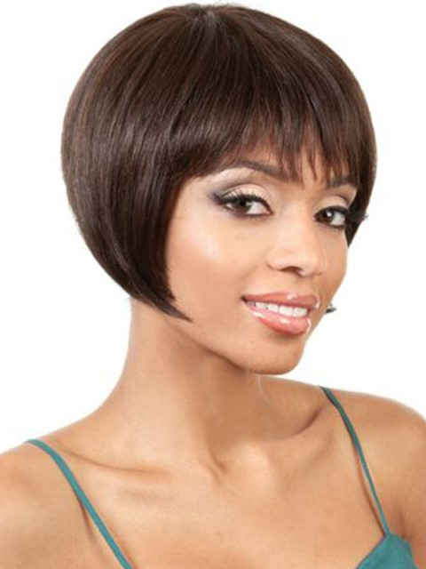 Straight Black short hairstyles