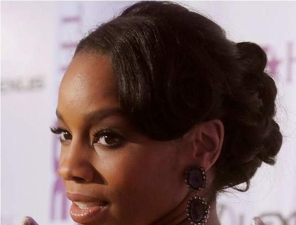 Updos for black women for long hair styles