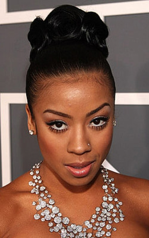 Stupendous 16 Stylish Updos For Black Women Short Hairstyles Gunalazisus