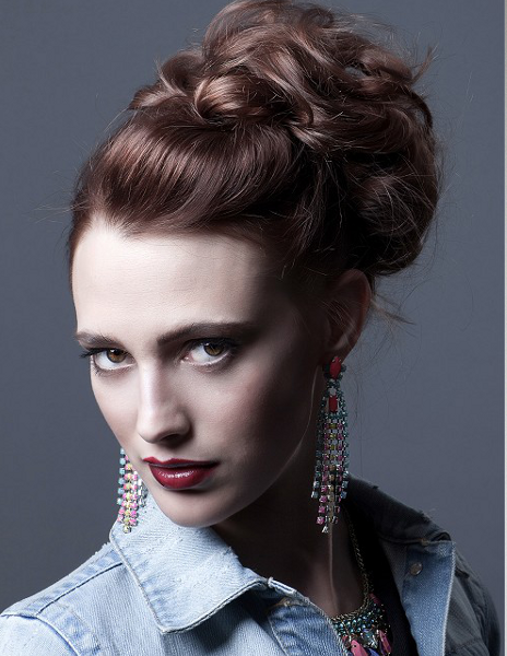 Cute updos for medium hair