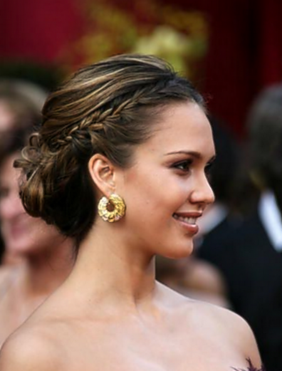 Updos for medium hair for girls