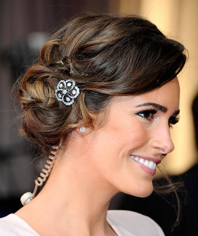 Updos for medium hair for women over 40