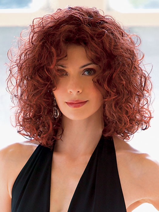 Curly Hairstyles For Women, for long faces